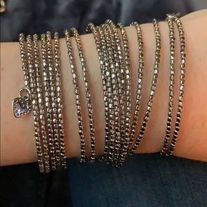 Stella and Dot silver bracelet